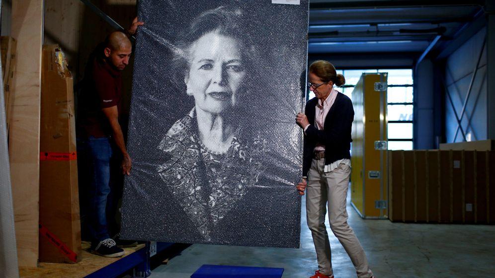 Foto: Retrato de la exprimera ministro británica, Margaret Thatcher. (Reuters)