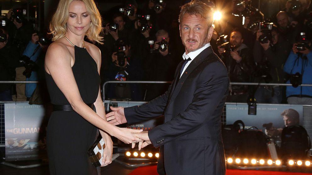 Una infidelidad de Sean Penn, motivo de la ruptura con Charlize Theron