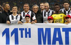 El fútbol se vuelve solidario con Zidane, Ronaldo y sus amigos