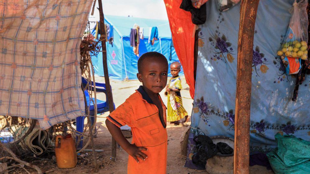 Foto: Imagen de archivo de un niño en el campamento de desplazados internos Ceel Jaale en Belet Weyne, al norte de Mogadiscio (Somalia). (EFE)