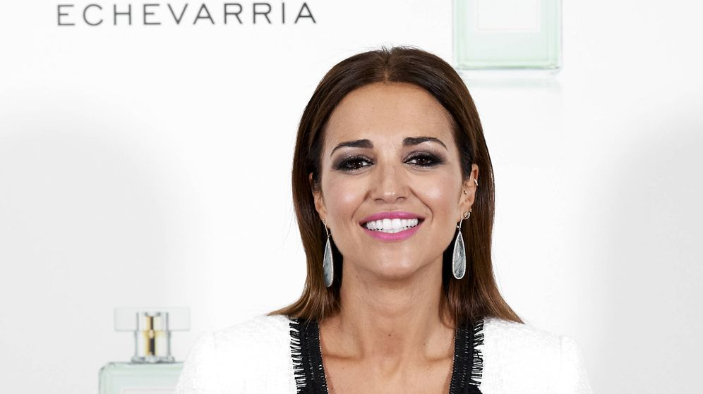 Foto: Paula Echevarría en la presentación de My Beauty Box. (Getty)