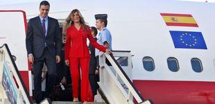 Post de Begoña Gómez 'destrona' a Letizia: protagonista de rojo en Cuba