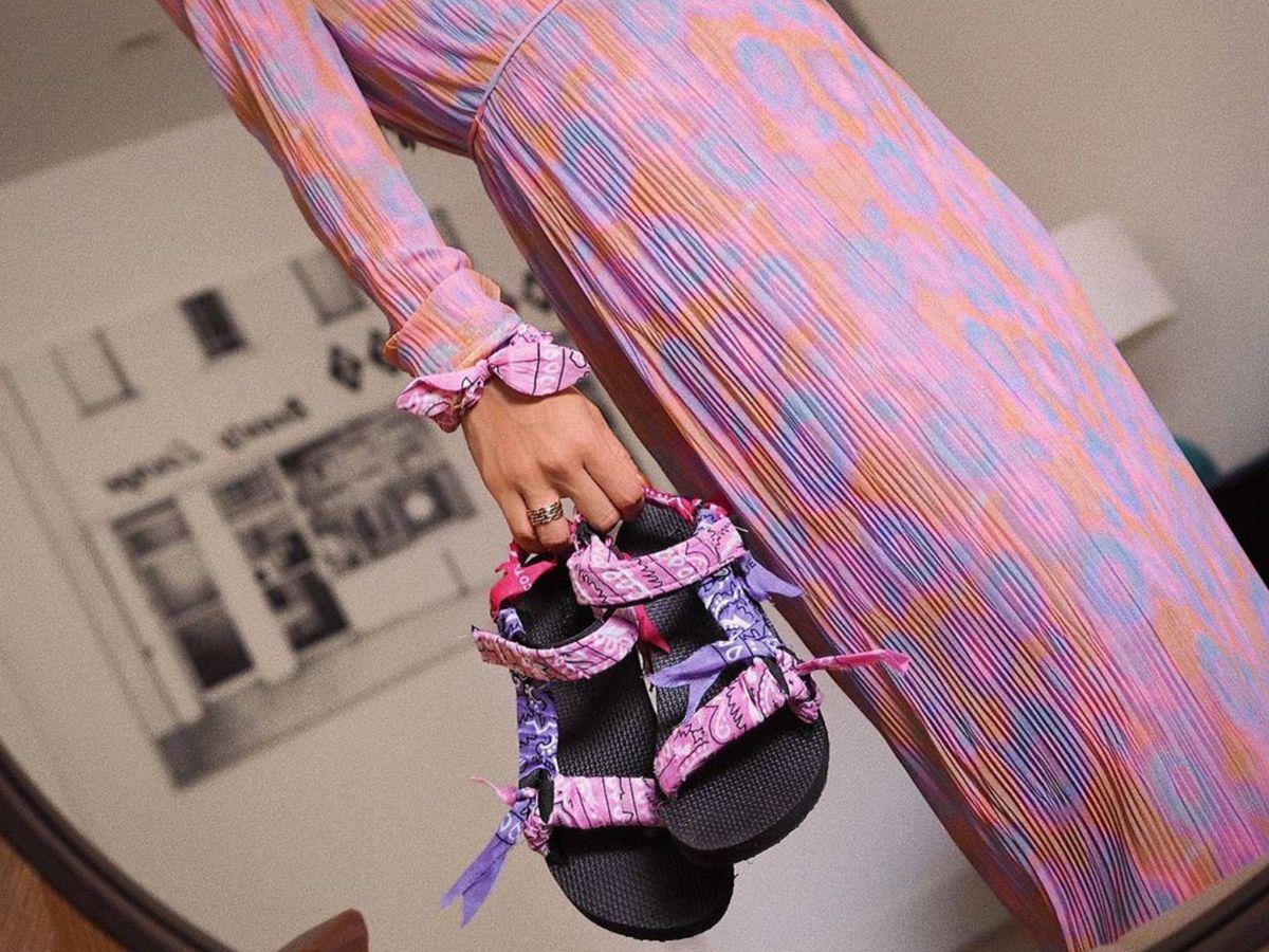 Foto: Así son las sandalias preferidas de las influencers para este verano. (Instagram @mariafrubies)