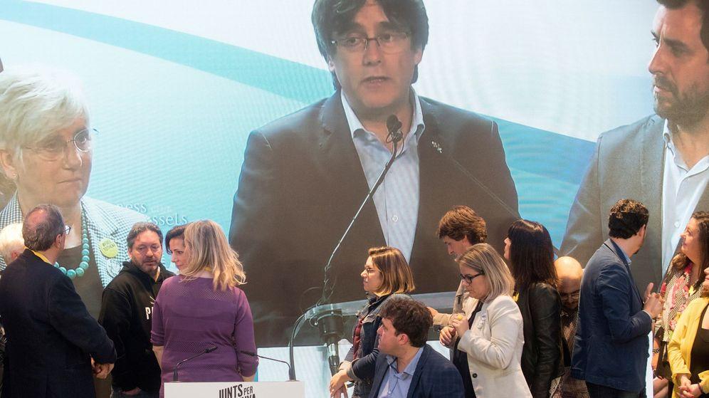 Foto: Noche electoral en la sede de jxcat