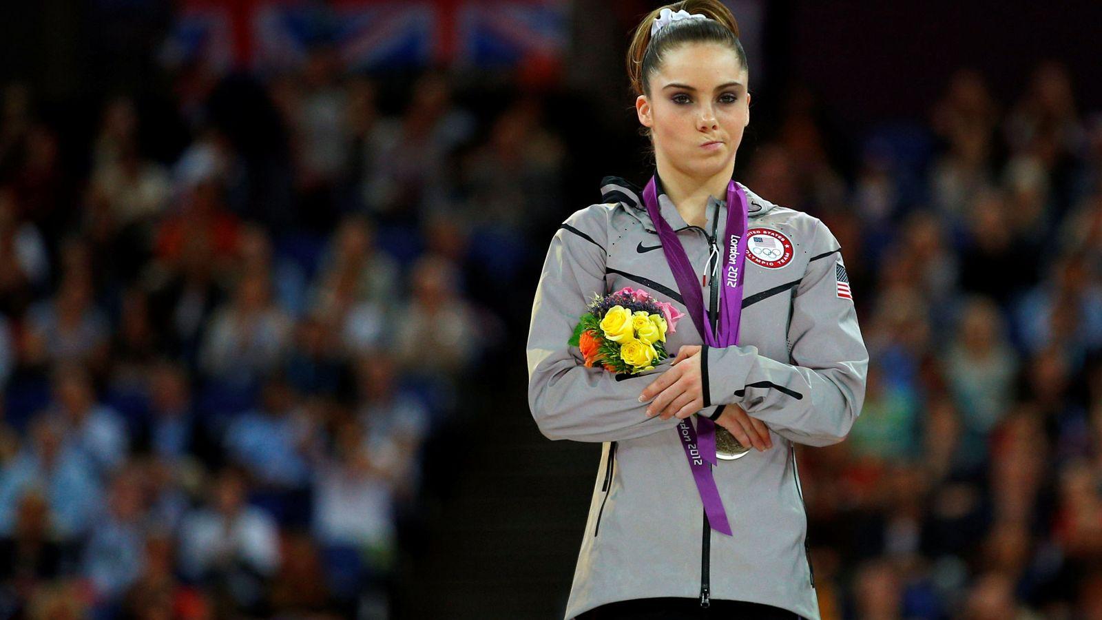 Foto: McKayla Maroney ganó dos medallas en los Juegos Olímpicos de Londres 2012. (Reuters)