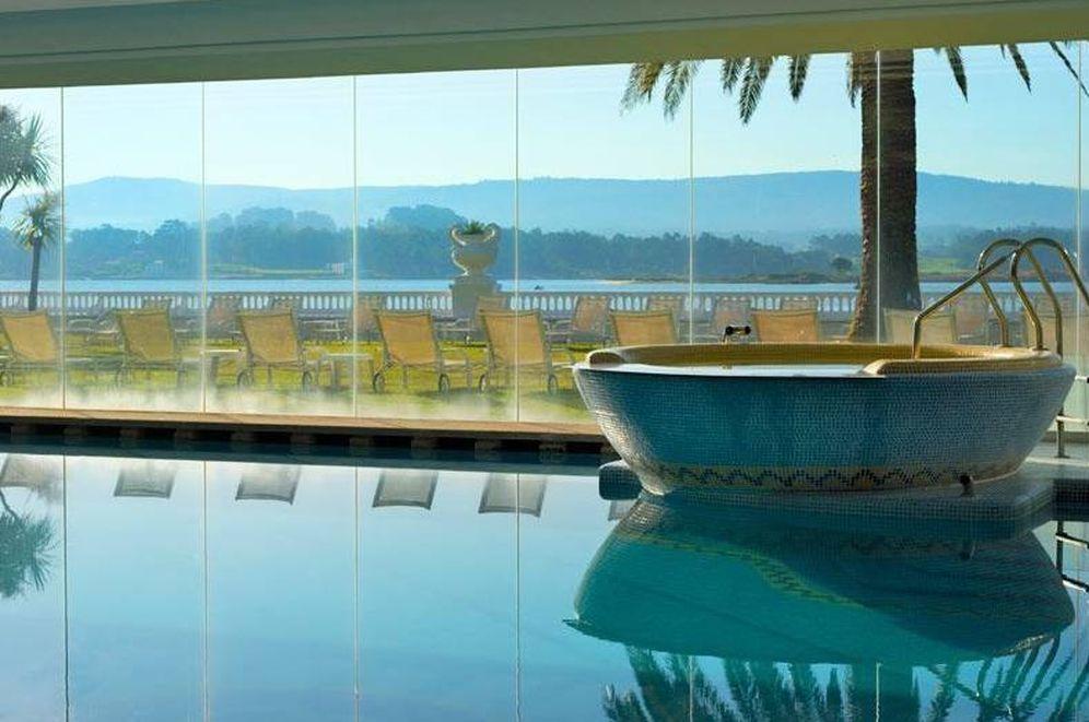 Foto: El balneario del Gran Hotel La Toja, en Pontevedra, es pura tentación. (Cortesía)