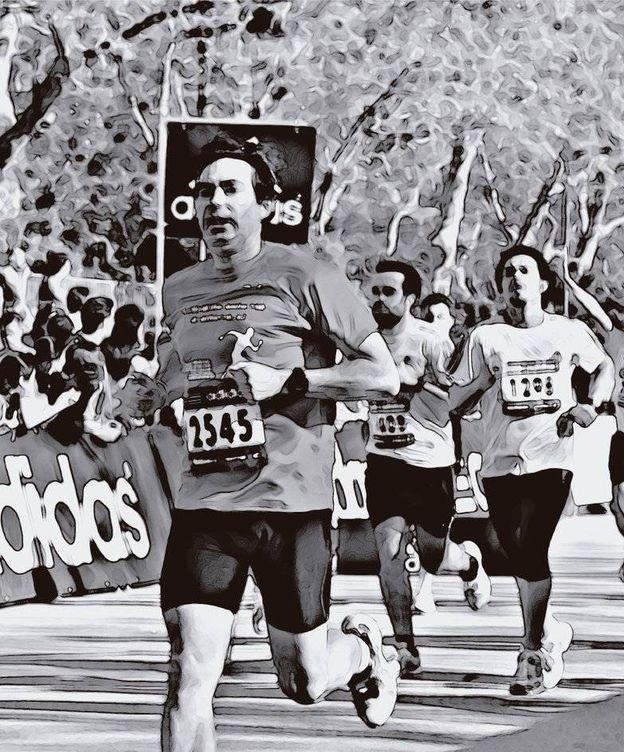 Foto: Jesús Martín Tapias cuenta su experiencia con el cáncer en un diario póstumo. (@MiMaraton)