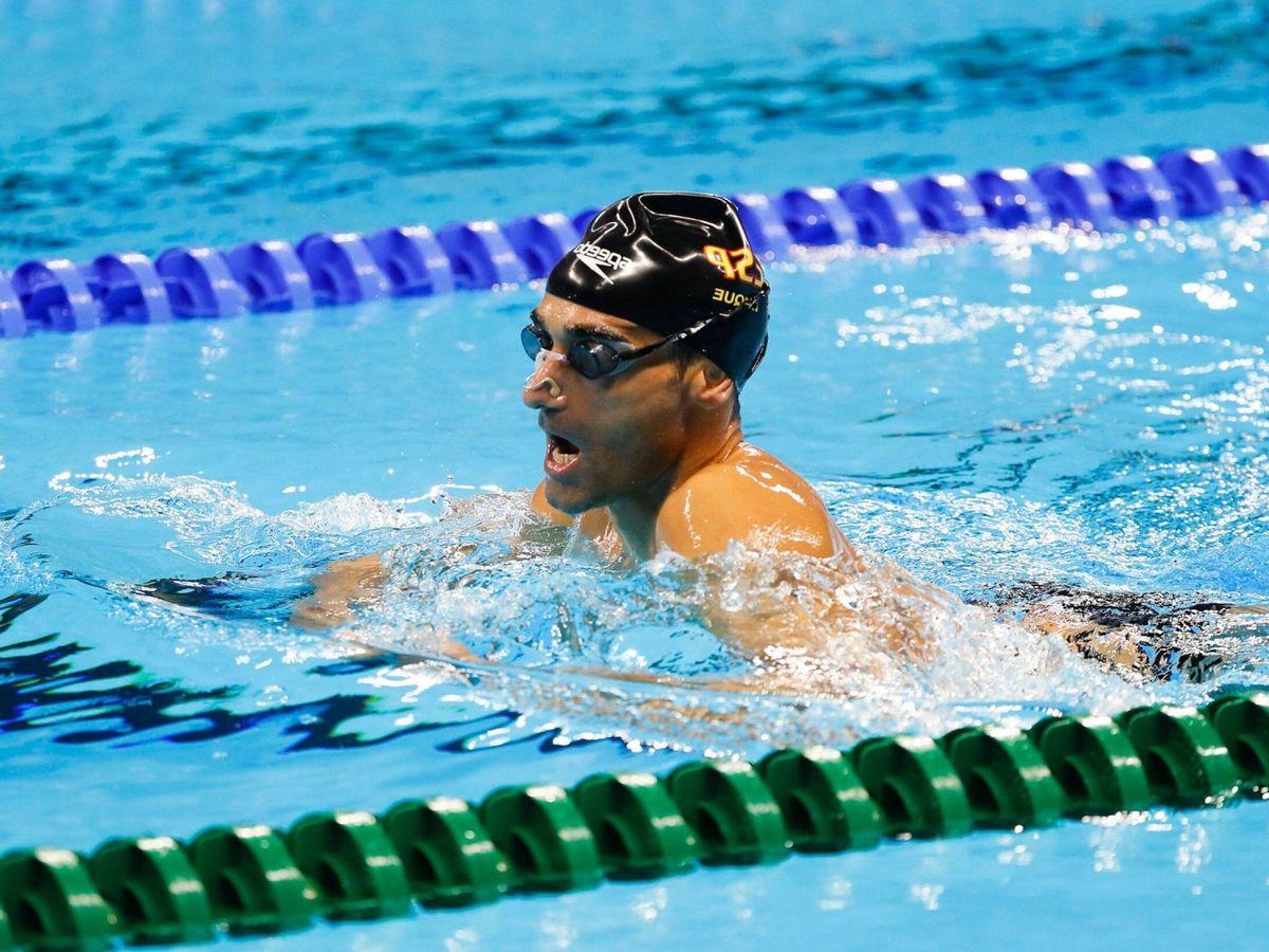 Foto: Miguel Luque, durante un entrenamiento en los anteriores Juegos Paralímpicos (EFE)