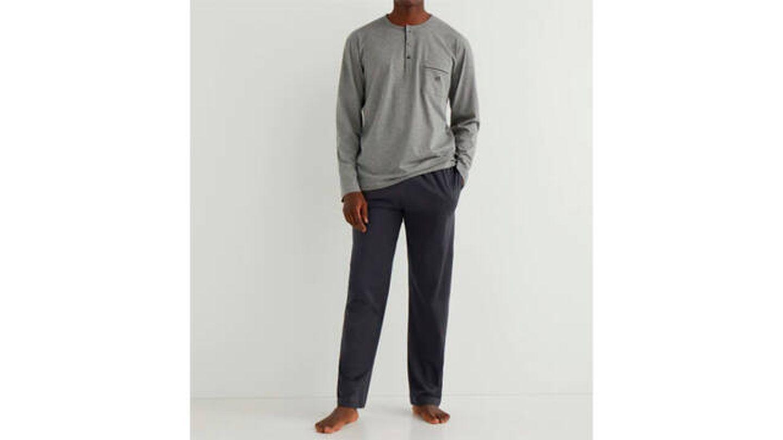 Pijama largo de hombre ZD