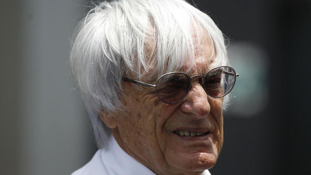 Ecclestone aviva el fuego: En Fórmula 1, la patada de Rossi sería bandera negra