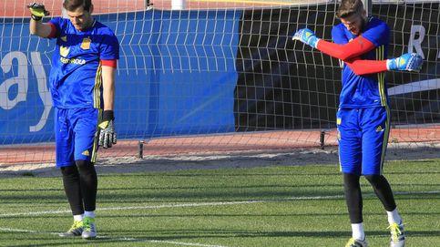 Del Bosque no da el paso de despejar la mayor incógnita: ¿Casillas o De Gea?