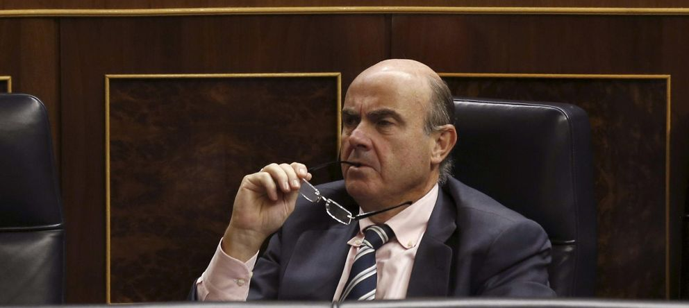 Foto: El ministro de Economía, Luis de Guindos (EFE)