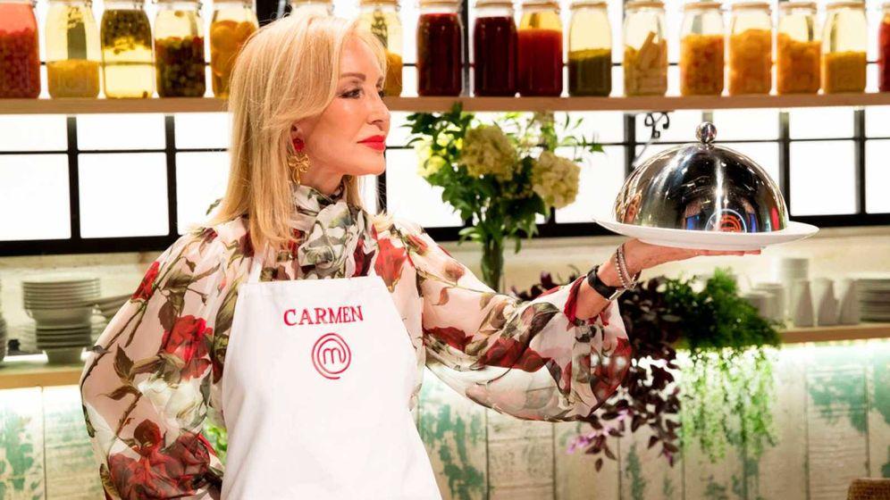 Foto: Carmen Lomana, expulsada de 'MasterChef Celebrity'. (TVE)