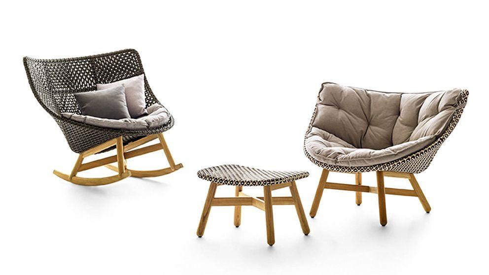 Sebastian Herkner crea una colección de muebles de jardín para Dedon