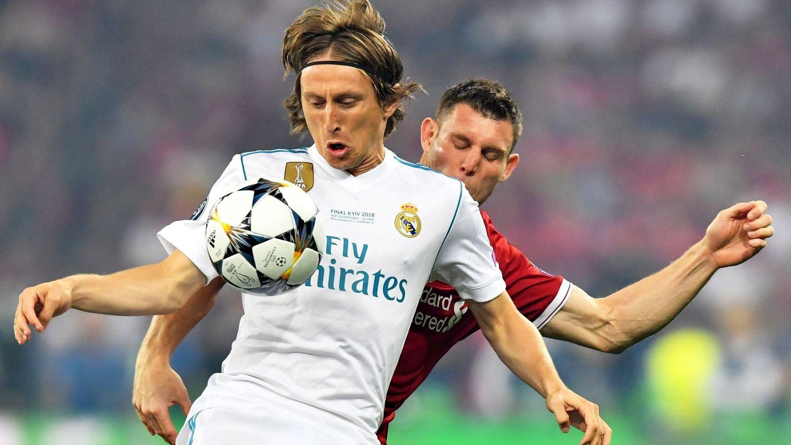 5fff3e01588 Real Madrid  El mal juego de Modric por su fatiga