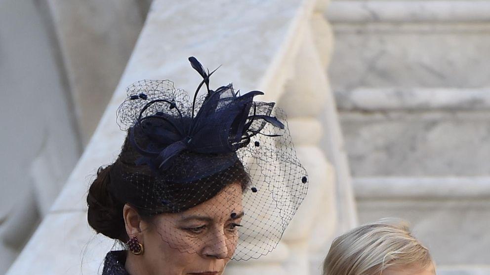 Carolina ejerce de abuela en la Fiesta Nacional de Mónaco