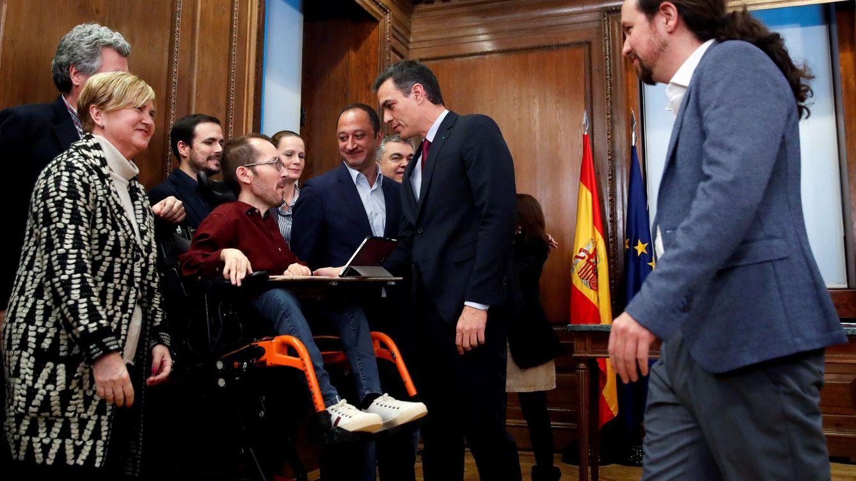 Sánchez e Iglesias regularán el alquiler, los juegos de azar y derogarán la 'ley mordaza'