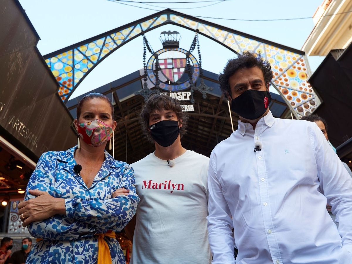 Foto: Samantha Vallejo-Nágera, Jordi Cruz y Pepe Rodríguez. (EFE)