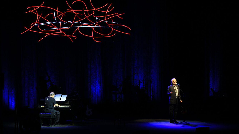 Foto: Joan Manuel Serrat en un concierto en Panamá. EFE