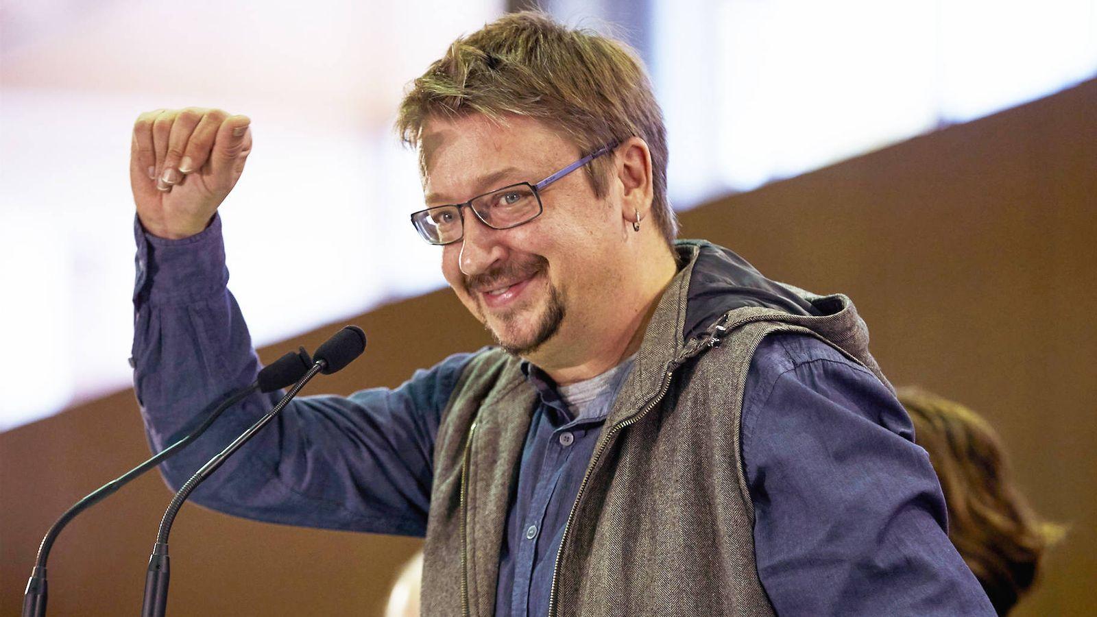 Foto: El cabeza de lista de Catalunya en Comu-Podem, Xavier Domènech. (EFE)