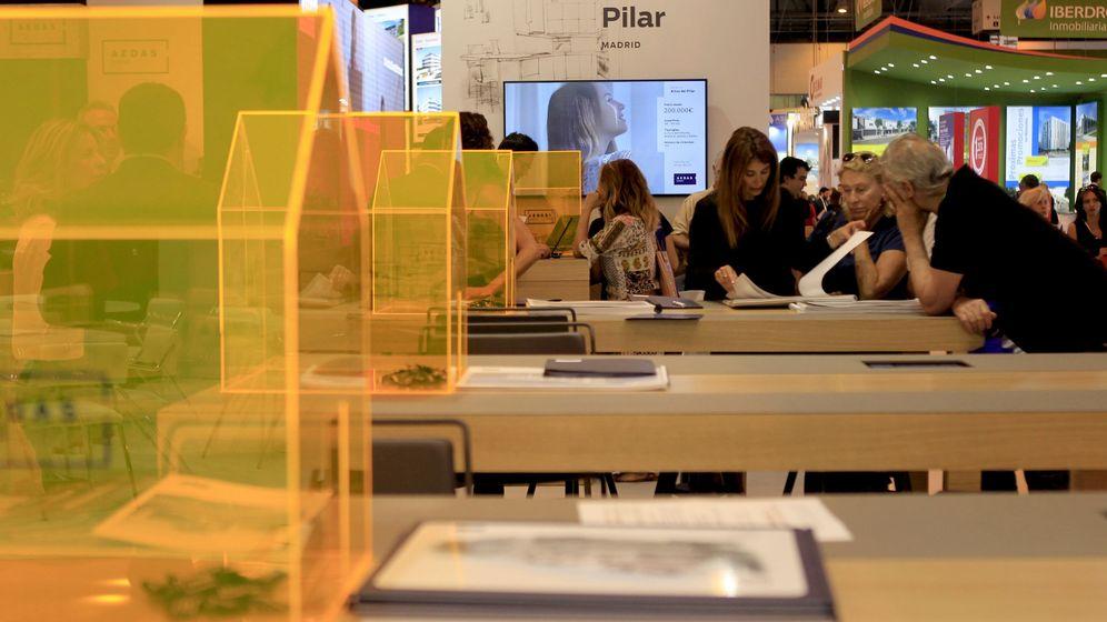 Foto: Salon Inmobiliario de Madrid (SIMA). (EFE)