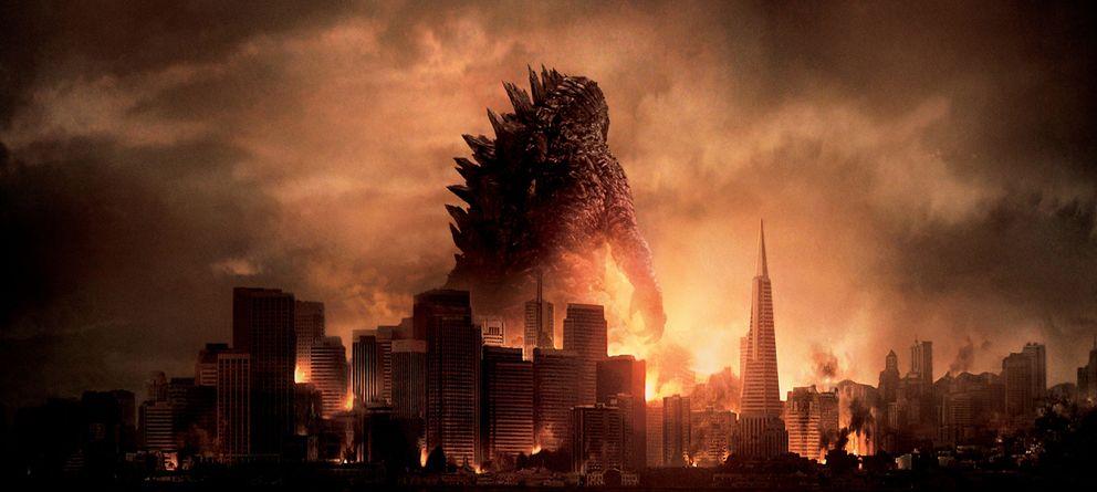 Foto: Cartel de la nueva versión de 'Godzilla'
