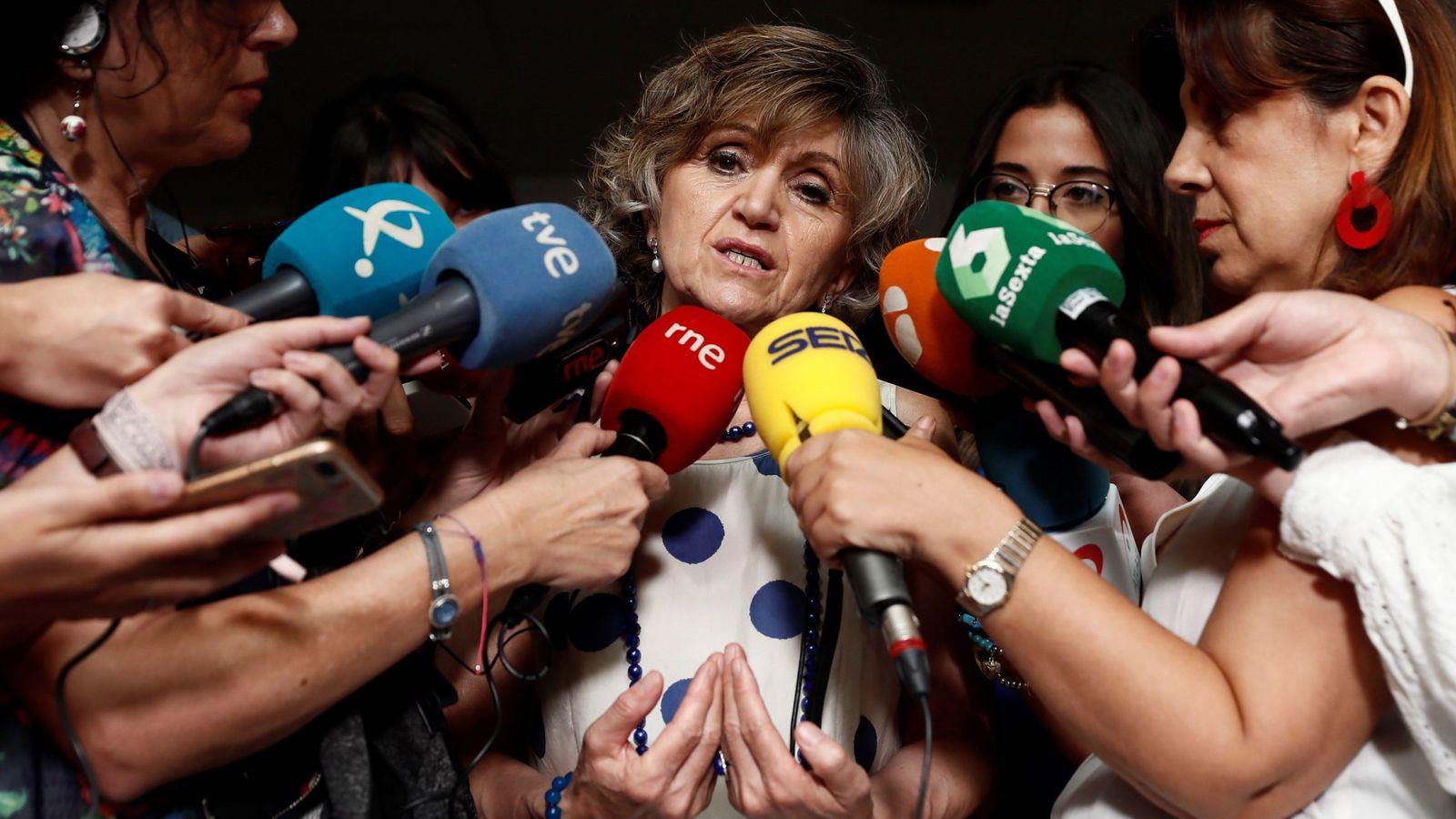 Foto: La ministra de Sanidad, Consumo y Bienestar, María Luisa Carcedo. (EFE)