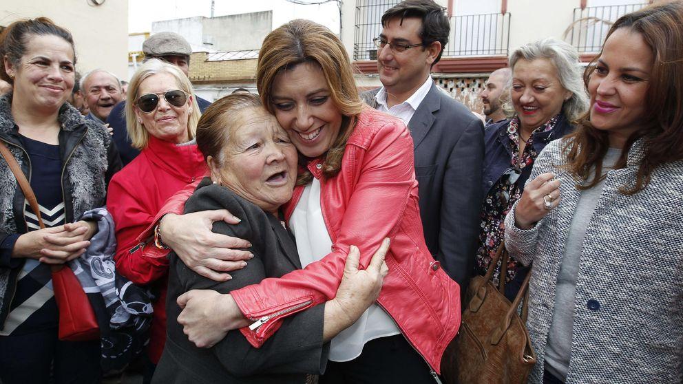 Díaz pelea contra un 'sorpasso' de Podemos en los barrios obreros