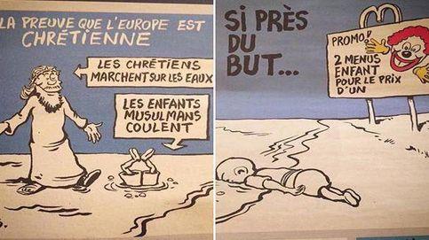 'Charlie Hebdo' polemiza con su sátira sobre la muerte del niño sirio Aylan
