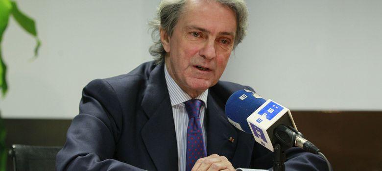 Foto: El presidente de la patronal de las grandes eléctricas Unesa, Eduardo Montes. (Efe)