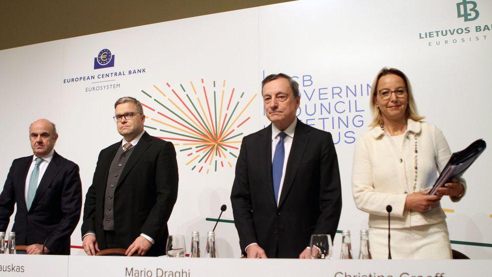 El BCE pierde toda esperanza: encefalograma plano hasta 2021
