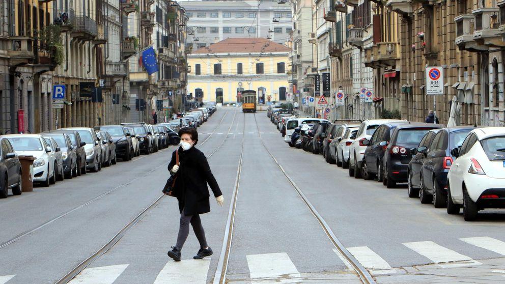 Italia reduce el ritmo de contagios y avisa: Estamos en lo más alto de la curva o cerca
