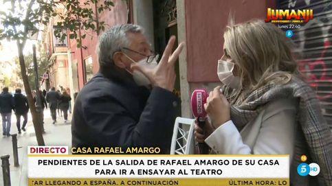 Una reportera de 'Socialité', insultada y amenazada por el padre de Amargo