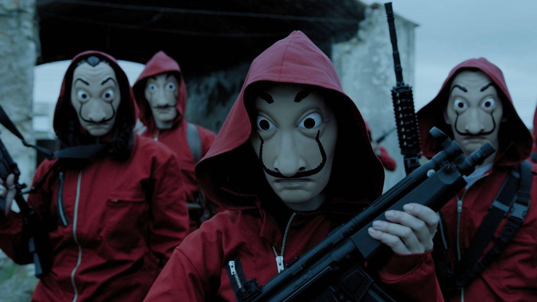 Imagen promocional de 'La casa de papel'. (Netflix)