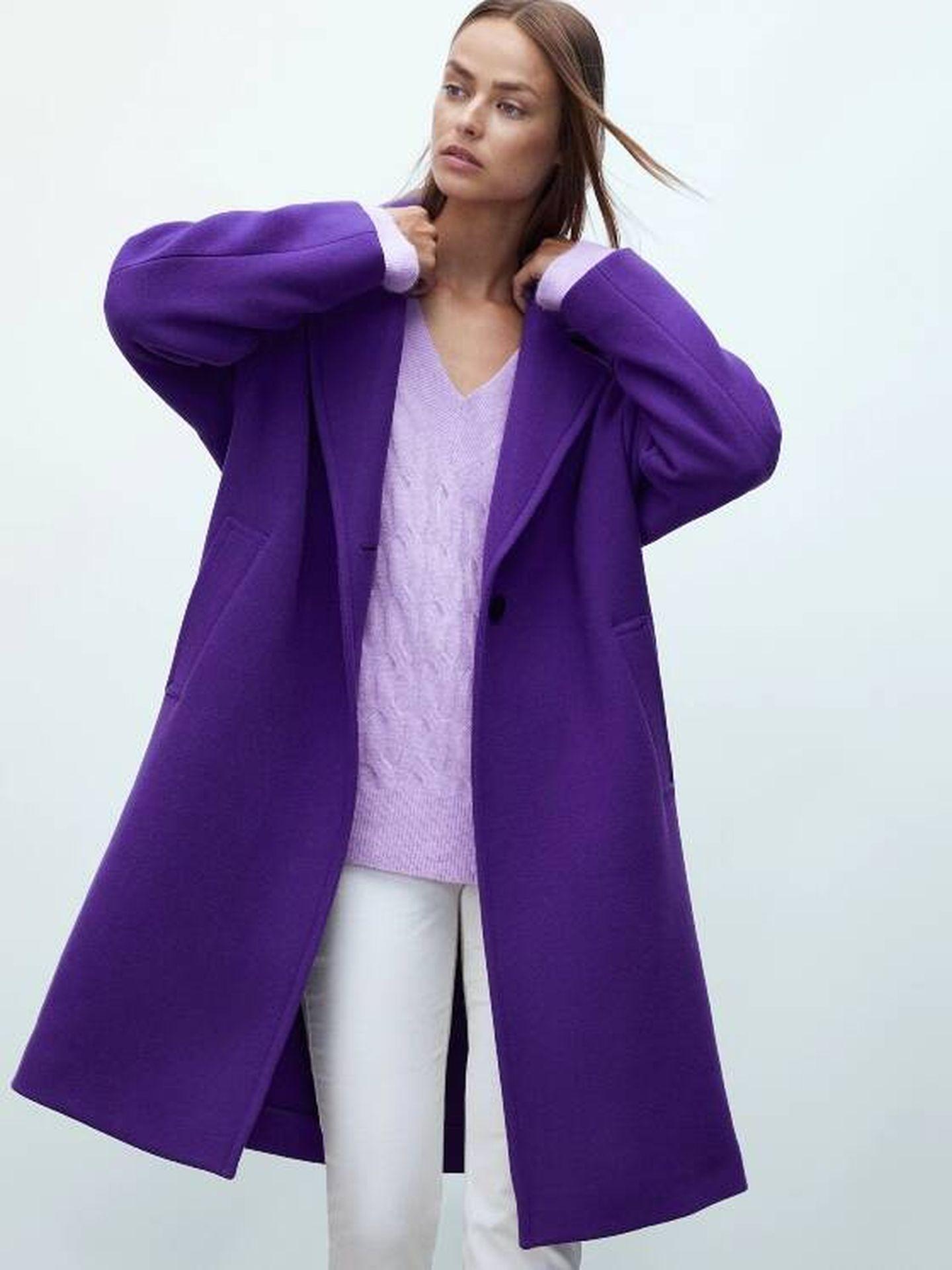 El nuevo abrigo de Massimo Dutti. (Cortesía)