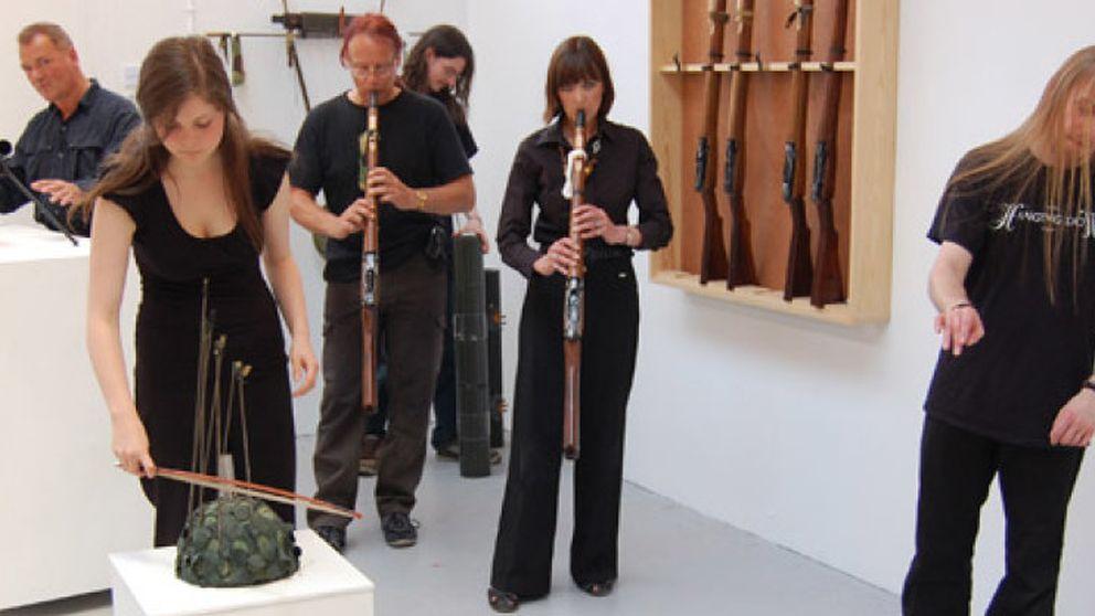 La orquesta que transforma armas en instrumentos