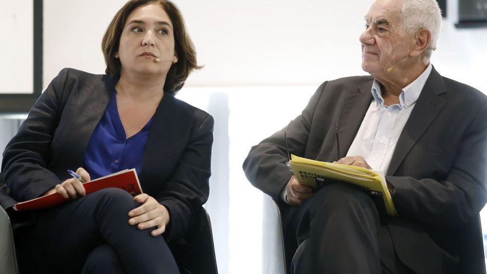 Foto: Ada Colau (i) y el candidato por ERC, Ernest Maragall. (EFE)