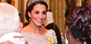 Post de Blanca, radiante y con la tiara de Lady Di va Kate Middleton