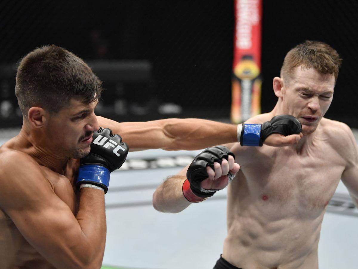 Foto: Joel Alvarez contra Joe Duffy (USA TODAY Sports).