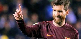 Post de El Barcelona gana su 25º Liga con un 'hat-trick' de Messi en Riazor