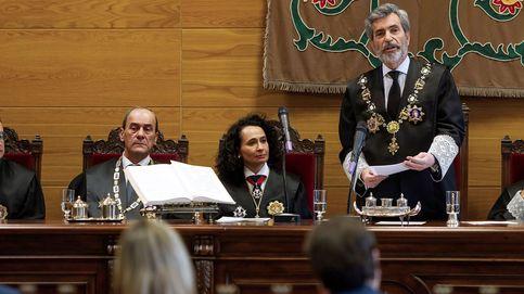 Lesmes verbaliza el enorme pesar de los jueces ante la ausencia del Rey en Barcelona