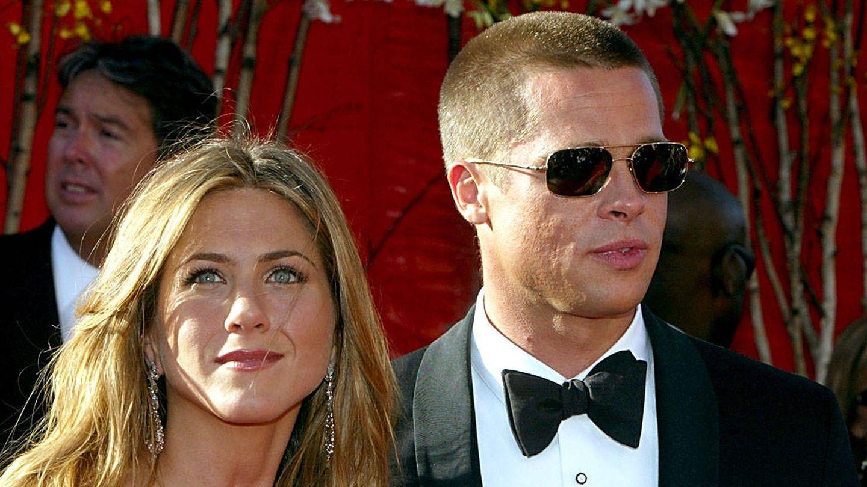 Jennifer Aniston y Brad Pitt, en una imagen de 2004. (Getty)
