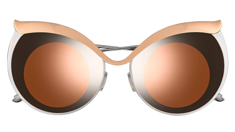 Foto: Los dobles sombreados de las lentes o el propio marco siguen la estela extravagante de las anteriores líneas de la firma