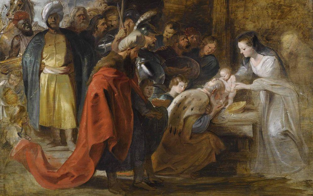 Foto: La 'Adoración de los Reyes Magos', pintada por Pedro Pablo Rubens. (EFE)