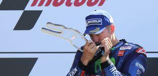 Post de Viñales triunfa a lo grande en Francia, Rossi y Márquez acaban por los suelos