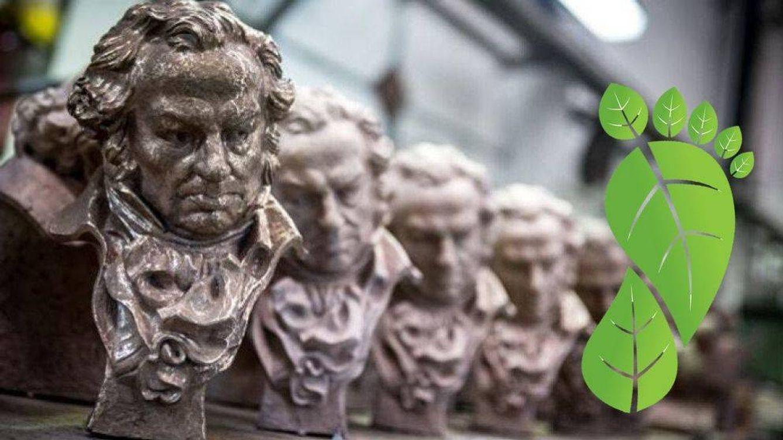 Los Premios Goya 2020, acreditados por su compromiso contra el cambio climático