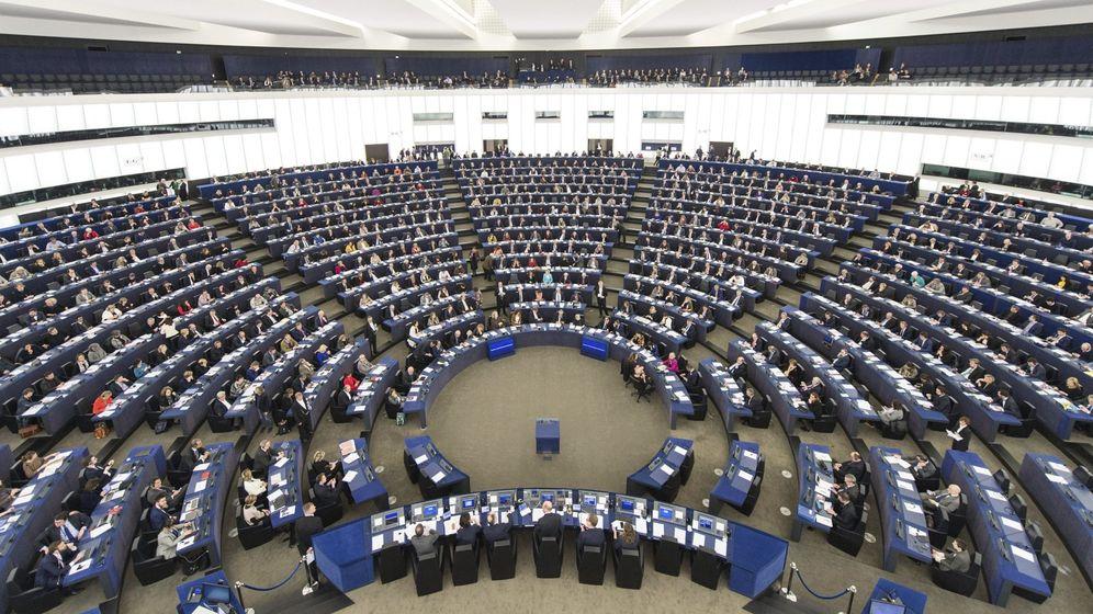 Foto: Vista general de la Eurocámara. (EFE)