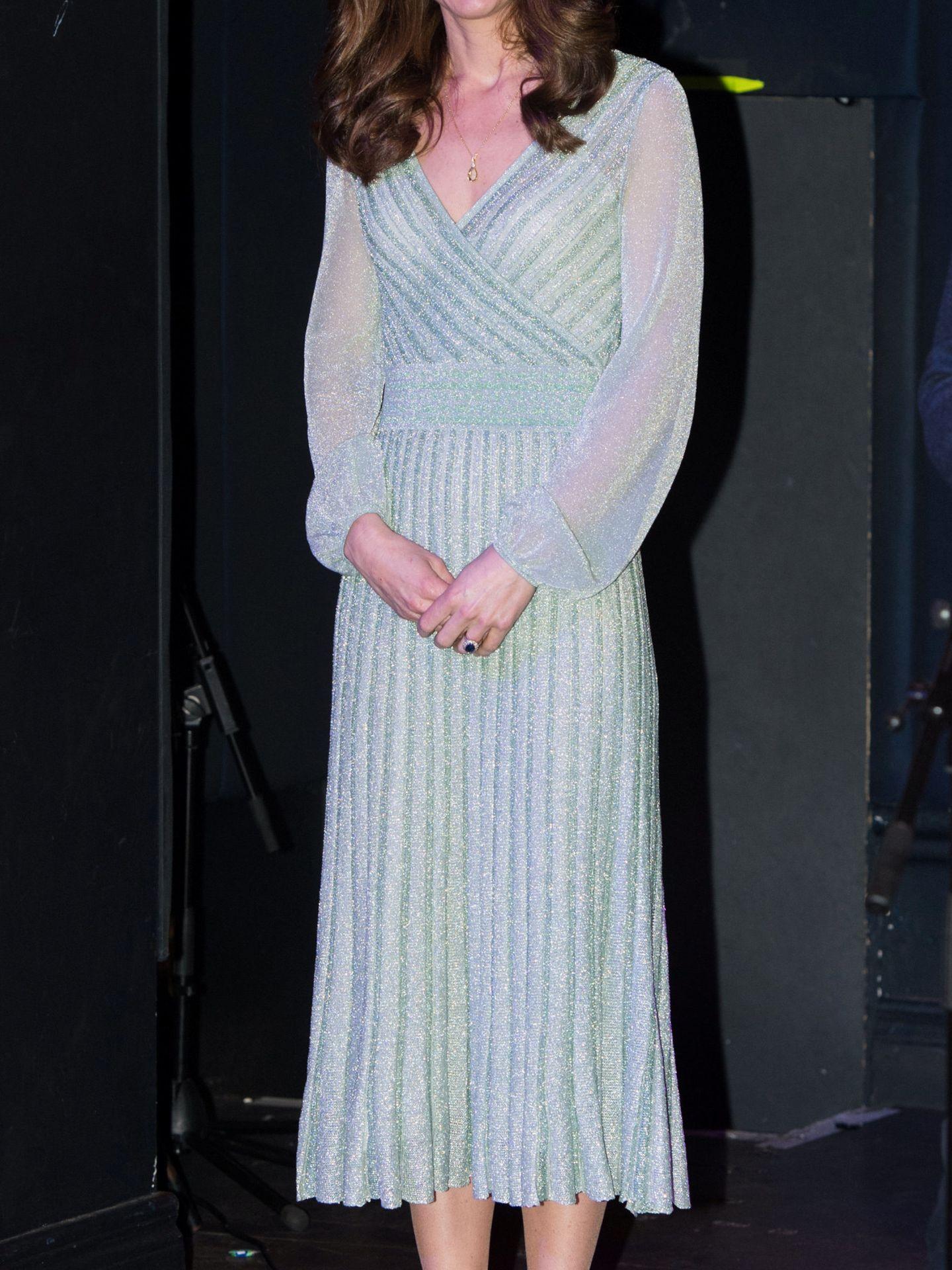 Kate, en febrero de 2019 en Belfast. (Reuters)