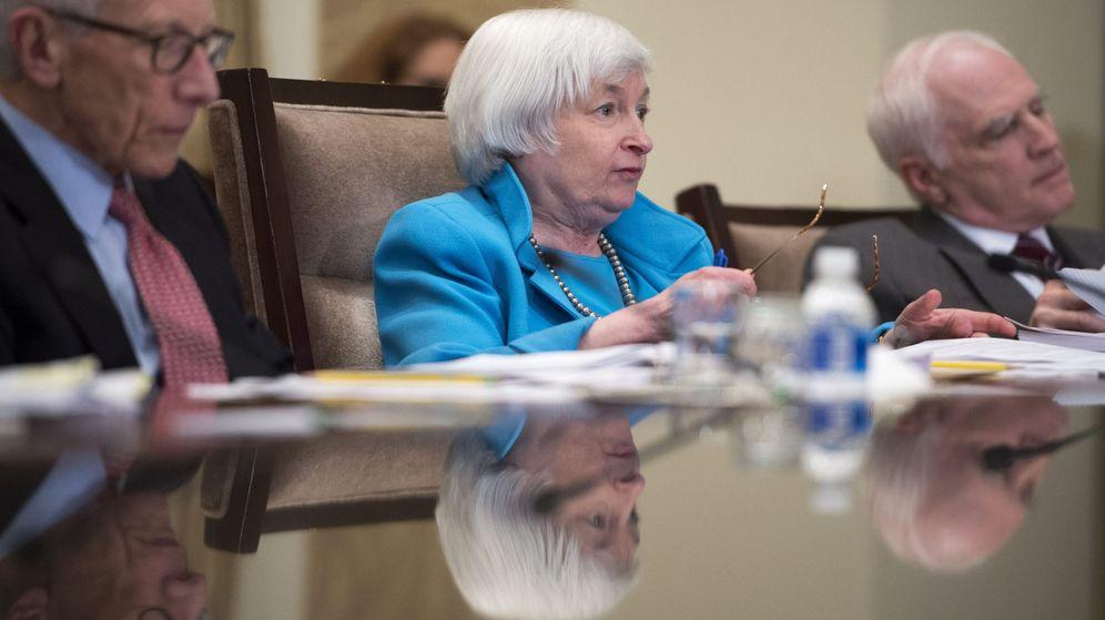 Foto: La presidenta de la Reserva Federal de Estados Unidos, Janet Yellen. (EFE)