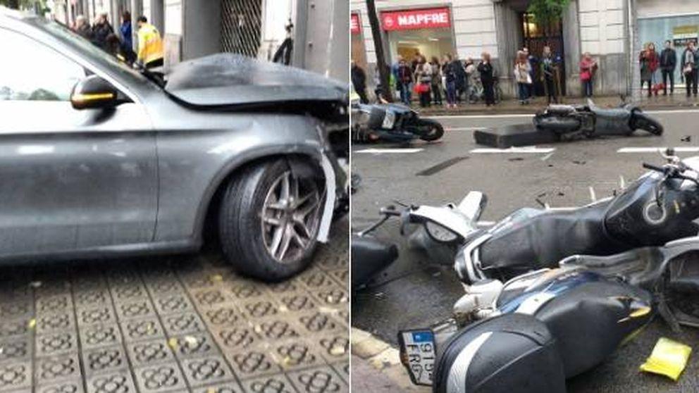 Varios heridos en un atropello múltiple en Barcelona: una niña, en estado grave